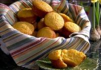 basket of corn muffins